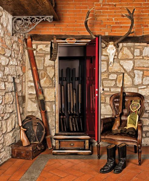 Vestíbulos, pasillos y escaleras de estilo  por Maggi Massimo