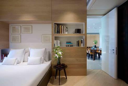 apartment on Malabar Hill- 2, Mumbai:   by Rajiv Saini & Associates