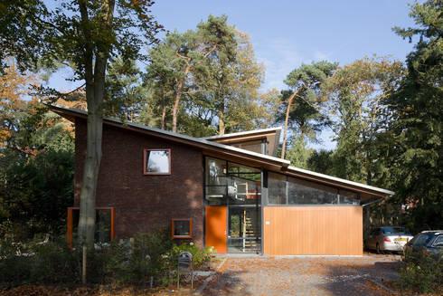 Villa's Bilthoven: moderne Huizen door Cita architecten