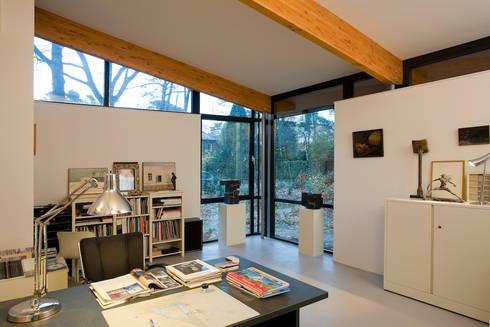 Villa's Bilthoven: moderne Studeerkamer/kantoor door Cita architecten