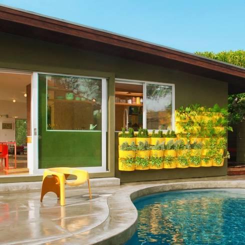 Barbara Bestor Residence:   by Woolly Pocket