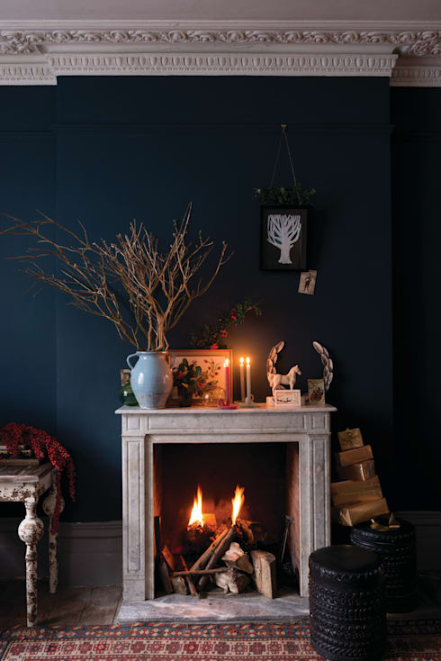 Living room by Farrow & Ball