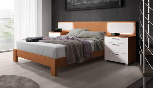 Cabezales  de dormitorio: Dormitorios de estilo moderno de Baixmoduls