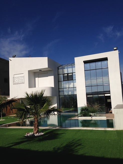 Maison bioclimatique par ecotech architecture homify - La maison bioclimatique ...
