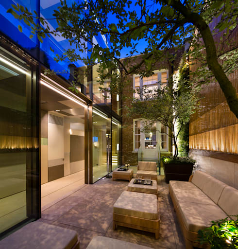 Private Garden, Belgravia, Living Wall:  Garden  by Biotecture