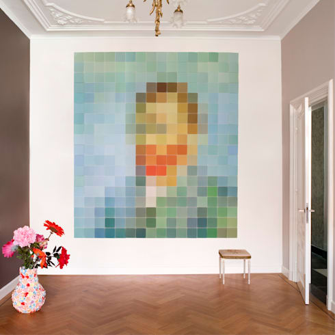 IXXI pixel - Van Gogh: moderne Woonkamer door IXXI