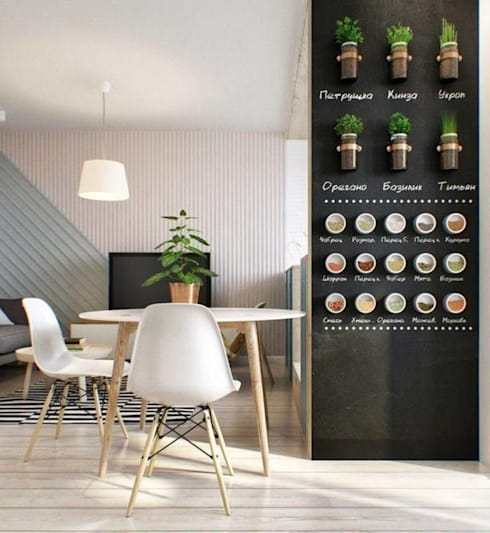 Стильная однушка 40м2 в Москве: Кухни в . Автор – IdeasMarket