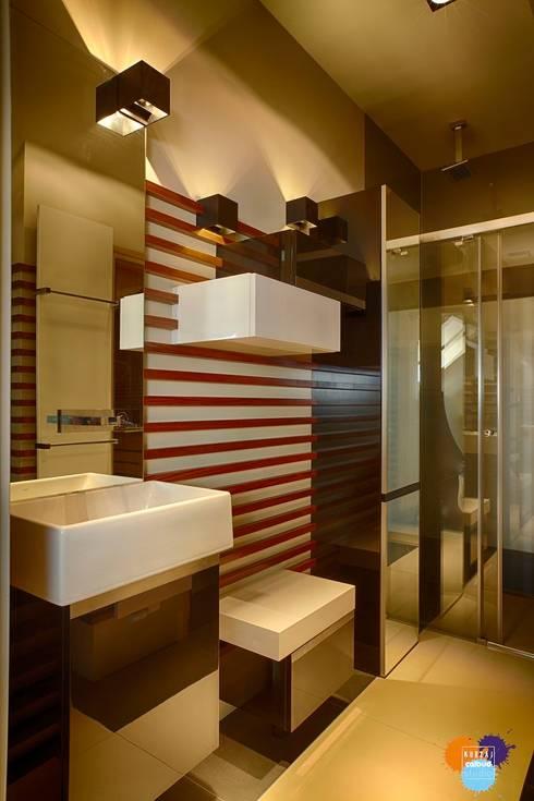 Bathroom by Studio Projektowe Projektive