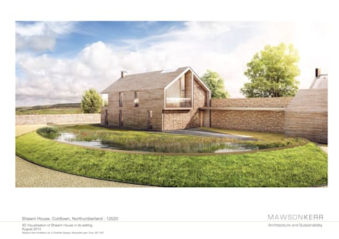 Shawm House:   by Mawson Kerr