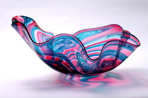Isobar Bowl by Bob Crooks at Riverside Art and Glass.:  Artwork by Riverside Art and Glass, Contemporary Gallery