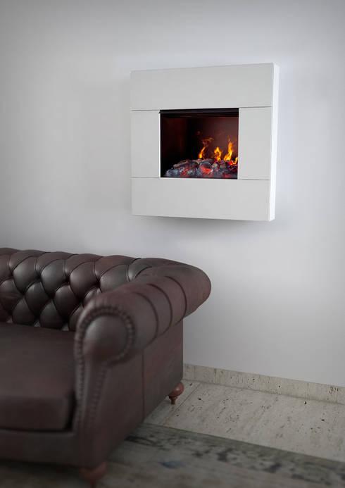 Salones de estilo moderno de MaisonFire