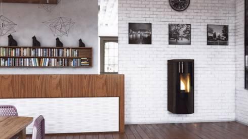 Stufe a pellet Skia Design by MaisonFire   homify