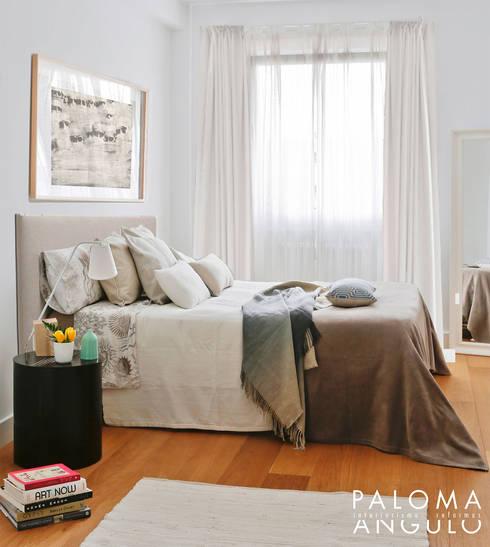Dormitorio principal: Dormitorios de estilo  de Interiorismo Paloma Angulo