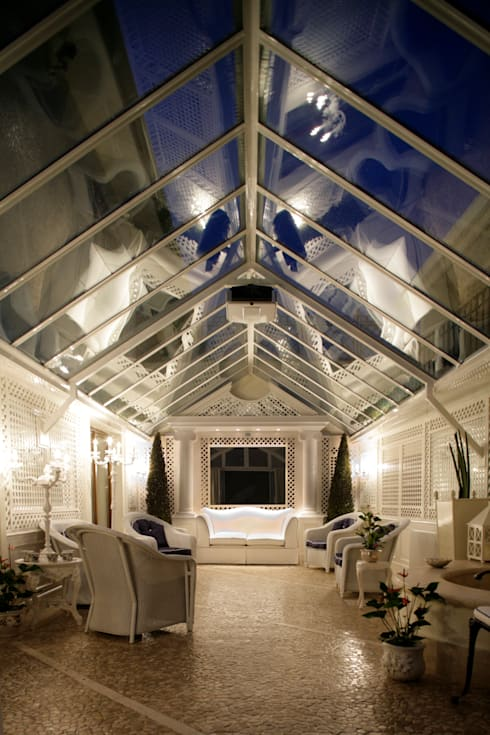 Jardines de invierno de estilo  por Studio di Architettura Alberto Ambrosini
