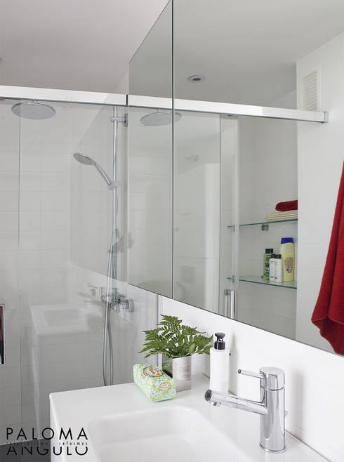 Baño: Baños de estilo minimalista de Interiorismo Paloma Angulo