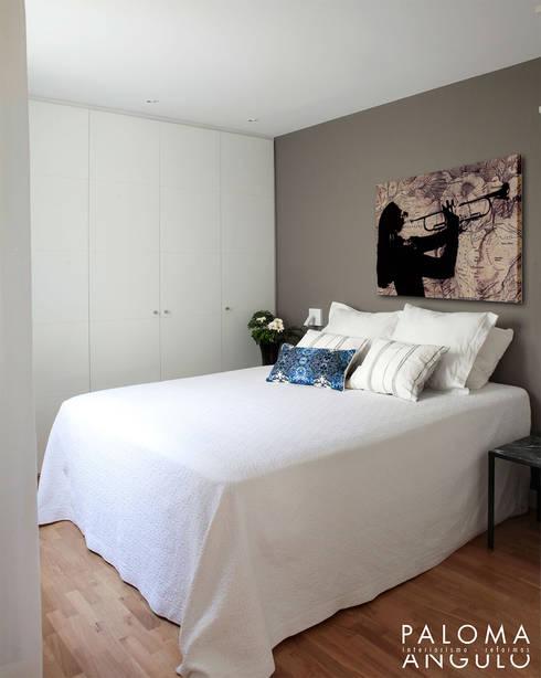 غرفة نوم تنفيذ Interiorismo Paloma Angulo