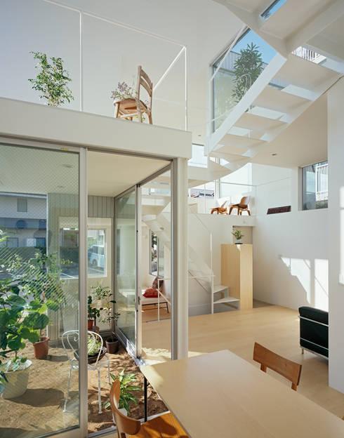 近藤哲雄建築設計事務所의  거실