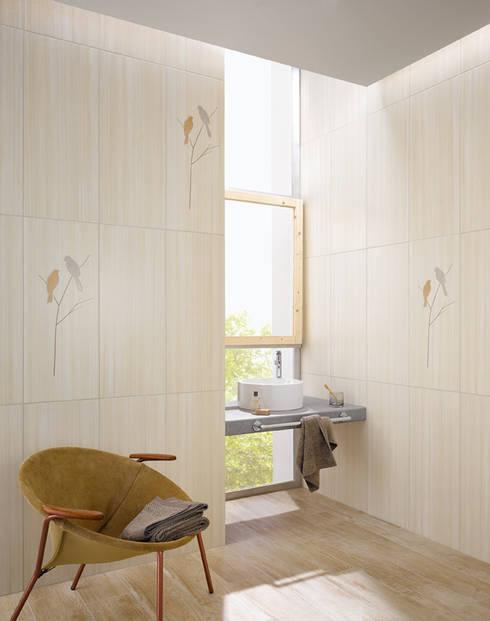 LAND ART: landhausstil Badezimmer von Steuler-Fliesen GmbH