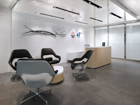 ICBC Office:   by Boutique Design Limited
