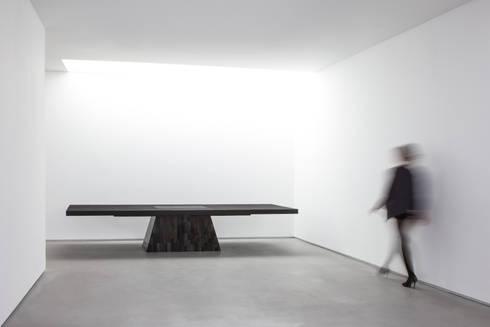 Rick Owens—Plug Table (petrified wood):   by Carpenters Workshop Gallery