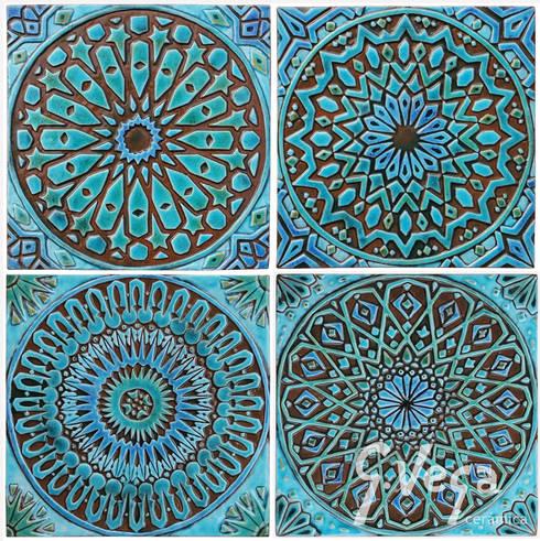 MOROCCAN WALL ART DESIGNS:  Household by Gvega Ceramica
