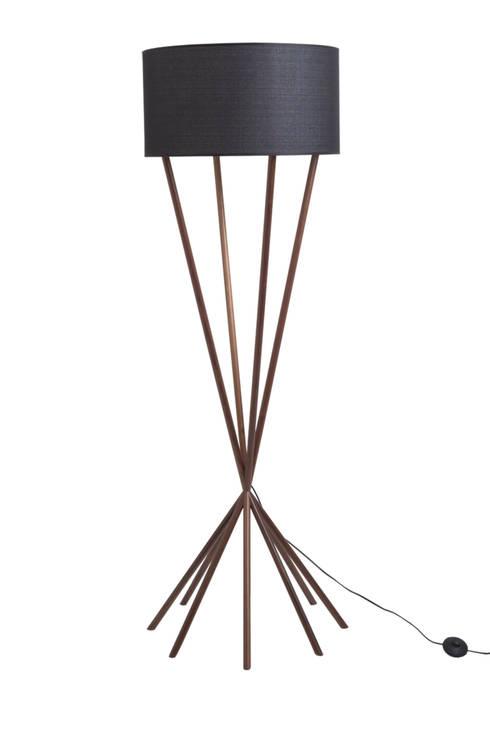 Bucca Design – campo // floor lamp:  tarz Oturma Odası