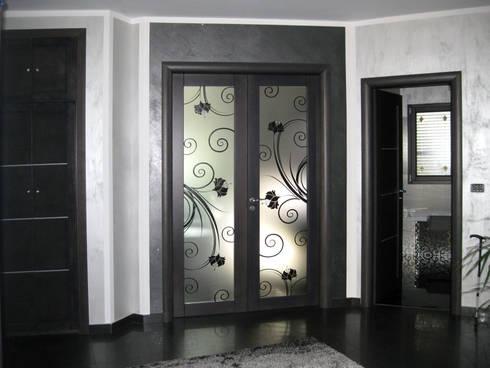 Porte in vetro di design por bellinvetro homify - Porte in vetro design ...