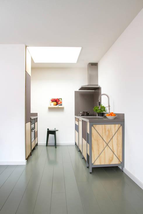 Projekty,  Kuchnia zaprojektowane przez Studio Mieke Meijer