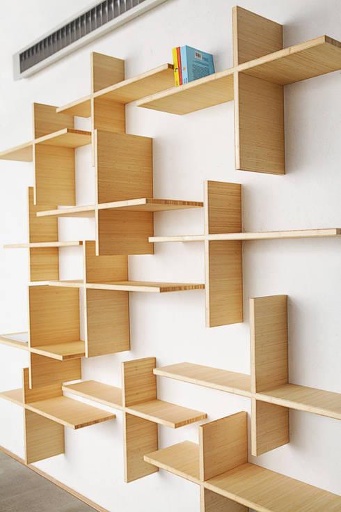 Kabinet: minimalistische Woonkamer door karel