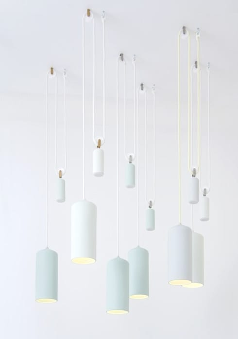 Porcelain Lamp:   door Studio WM