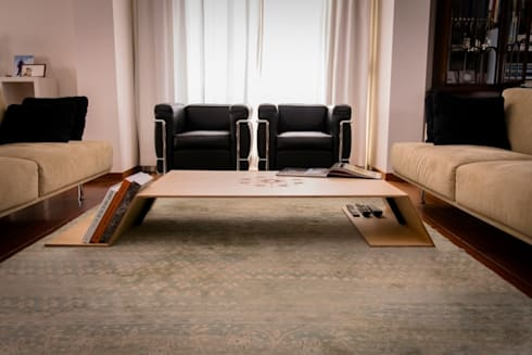 Kech : minimalistic Living room by Cheb Fusion