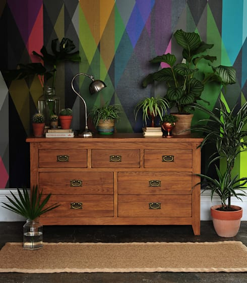 Oakland 3+4 Chest:  Living room by The Cotswold Company