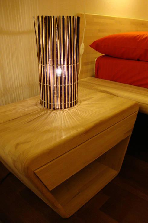 BAMB.OO: Camera da letto in stile in stile Moderno di Arch. Laura Cera | KERA ecodesign