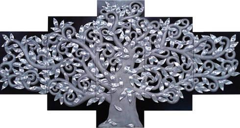 Árbol de la Vida: Arte de estilo  por Murales Artisticos Decorativos
