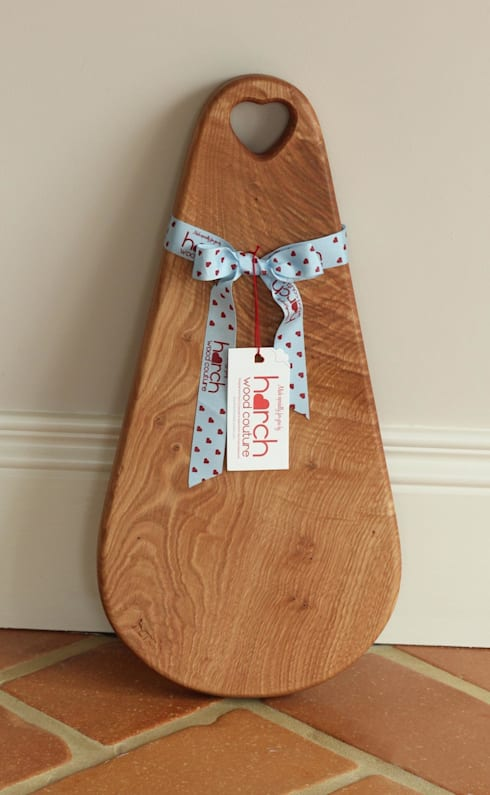 Harch Raindrop Board- Chopping and Serving Board: modern Kitchen by Harch Wood Couture