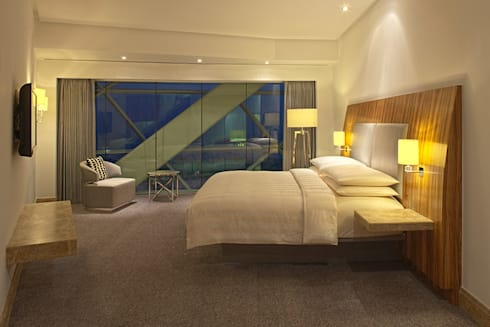 Hyatt Capital Gate, Abu Dhabi:  Hotels by Heathfield & Co