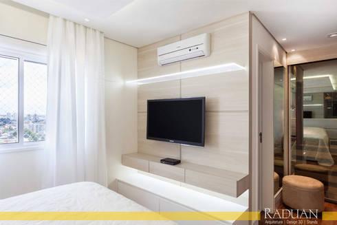 Apartamento 127 m² – Saúde:   por Raduan Arquitetura e Interiores