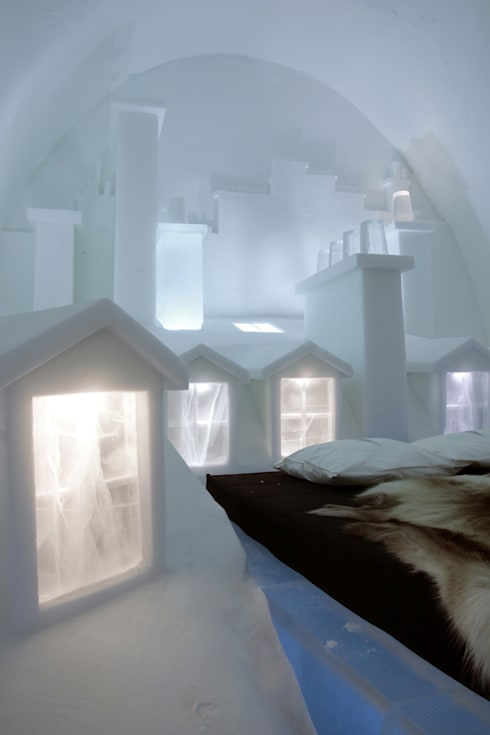 icehotel jukk sjarvi su de par ateliers kumquat homify. Black Bedroom Furniture Sets. Home Design Ideas
