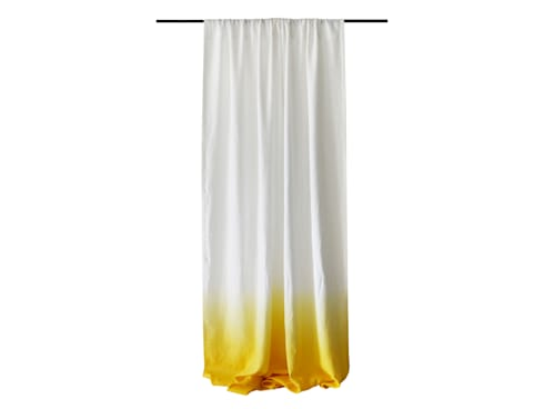 Yellow Ombre linen curtain by Lovely Home Idea:  Windows & doors  by LOVELY HOME IDEA