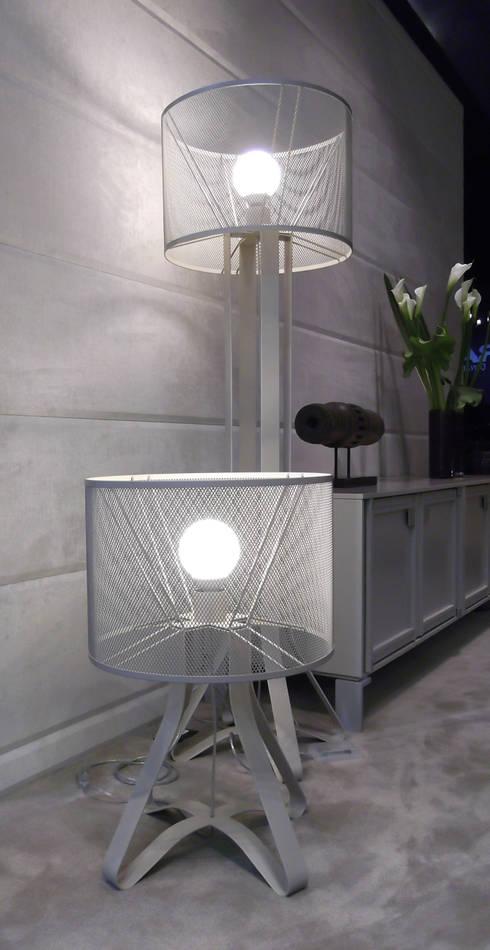 Lampada Sinforosa, Klab Design: Soggiorno in stile  di Francesco Polare