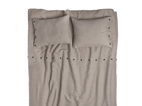 NATURAL linen bedding by Lovely Home Idea:  Bedroom by LOVELY HOME IDEA