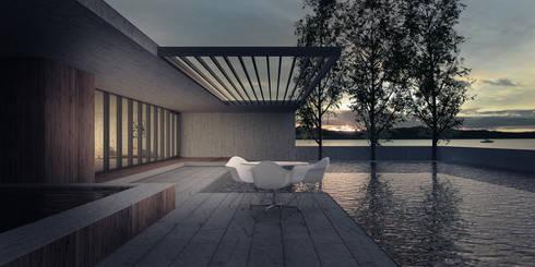 Mist Museum:  Terrace by vmavi