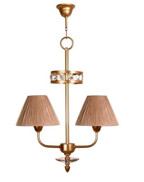 Lámpara clásica 2 luces Ipanema: Dormitorios de estilo clásico de Ámbar Muebles