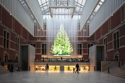 Tree of light for Rijksmuseum:  Musea door Studio Droog