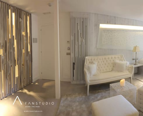 """HOTEL RURAL """"LAS TREIXAS"""": Casas de estilo rústico de FANSTUDIO__Architecture & Design"""