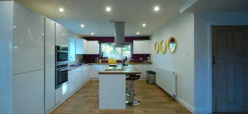 New Kitchen Layout:   by CJA Architecture