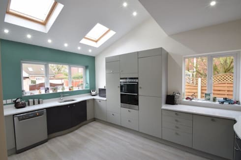 Kitchen Extension:   by CJA Architecture