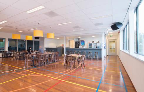 Sporthal Munnikenheide College, Etten-Leur:   door Liag Architecten en Bouwadviseurs