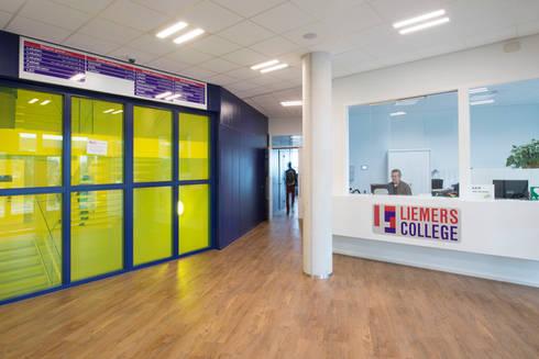 Liemers College:   door Liag Architecten en Bouwadviseurs