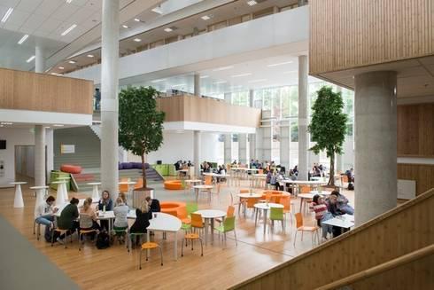 HAN Faculty of Education I/O:   door Liag Architecten en Bouwadviseurs